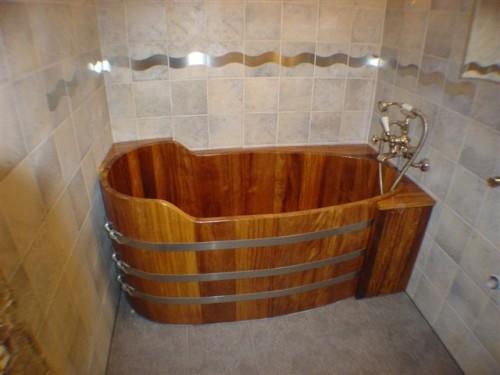 baignoire en bois sur mesure et spa en bois vente en ligne exp dition dans toute la france. Black Bedroom Furniture Sets. Home Design Ideas